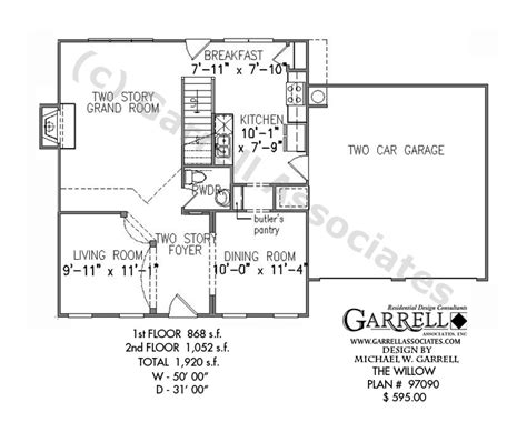 the willow house plan willow house plan house plans by garrell associates inc