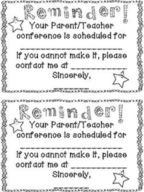 Parent Letter Remind 1000 Images About Conferences Report Cards On Parent Conferences Report