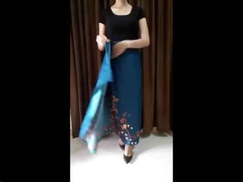 Batik Gendhis Lilit 2 how to wear kain batik lilit ala errastuff id