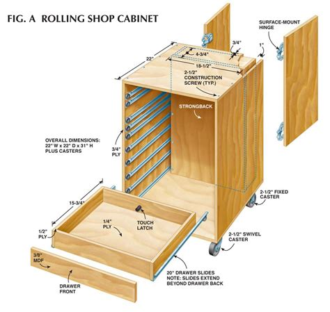Diy Storage Box by How To Make Rolling Garage Cabinets Diy Plans Free