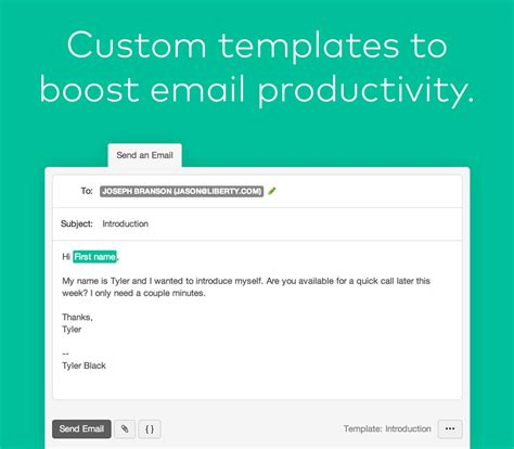 New Feature Email Templates And Merge Tags Now Available Base Crm Blog Family Photography Email Templates