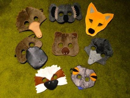 Quot Wombat Stew Quot Mask Set Is Based On The Classic Children S