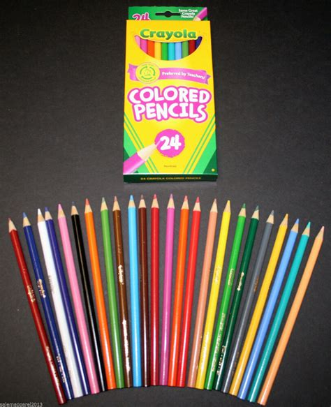crayola colored pencils 64 pack crayola colored pencils 24 pack assorted colors crafts