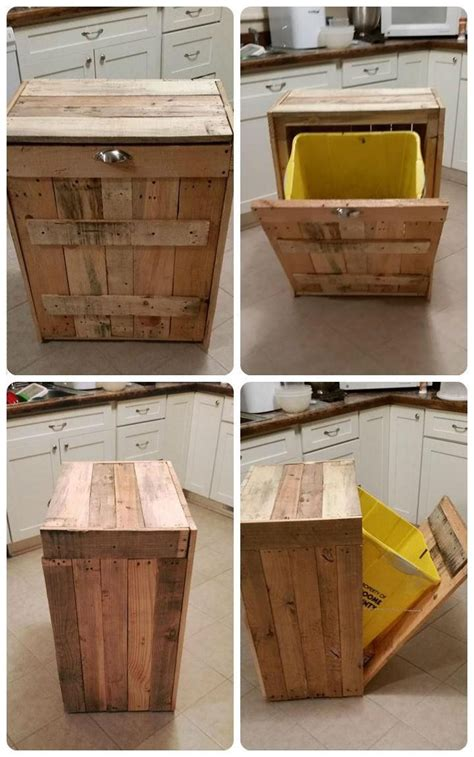 Kitchen Trash Can Ideas Best 25 Kitchen Trash Cans Ideas On Pinterest Trash Can Cabinet Cabinet Trash Can Diy And