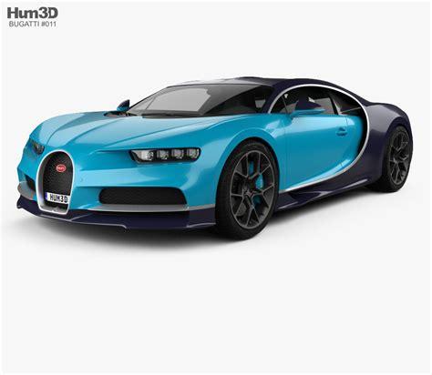 car bugatti 2017 bugatti chiron 2017 3d model hum3d