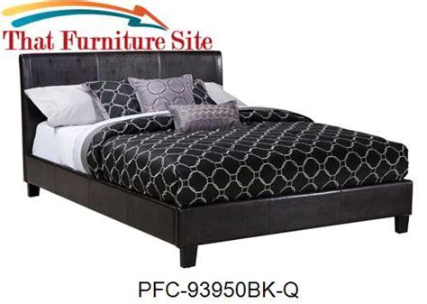 Pfc Furniture by Black Bicast Platform Bed By Pfc Furniture Industries