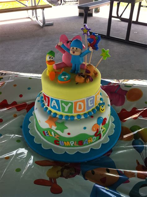 pocoyo birthday cake pocoyo birthday cake dreamcakes by millie