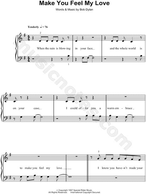 download mp3 adele make me feel my love adele quot make you feel my love quot sheet music easy piano in