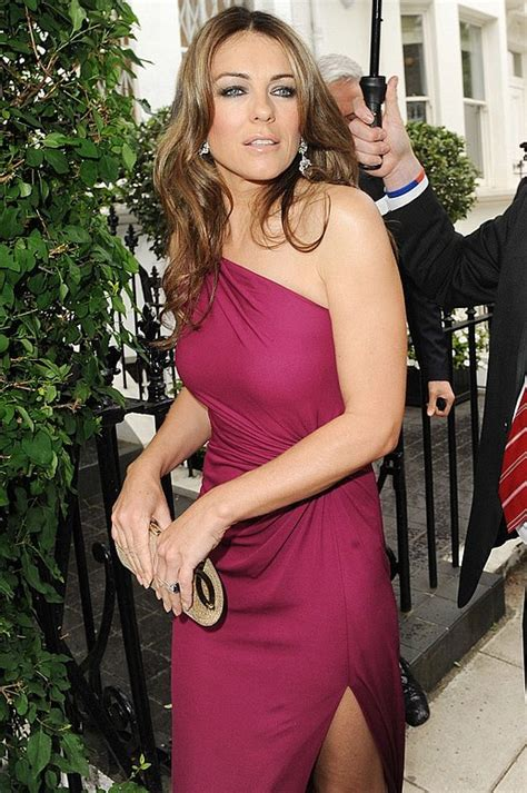 was does liz look differnet on black list elizabeth hurley looks different somehow but still