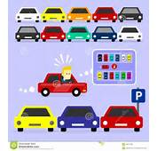 Parking Lot Is Full Stock Vector  Image 45579790