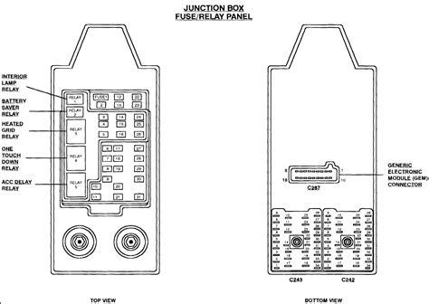 1998 ford expedition junction box fuse 38 wiring diagram