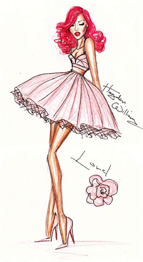 Pink Sketches by 33 Best Images About Fashion Sketches On
