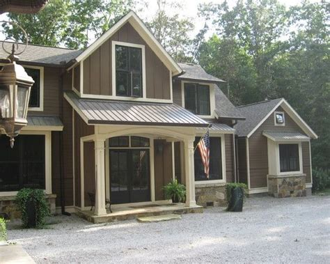 exterior design color paints and brown colors on