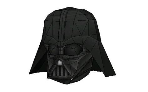 darth vader helmet template darth vader papercraftsquare free papercraft
