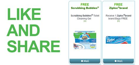 Right At Home Coupons by Free Scrubbing Bubbles Ziploc Coupons