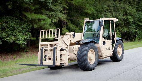 5k light capacity rough terrain forklift lcrtf jcb lands 163 115m us army order