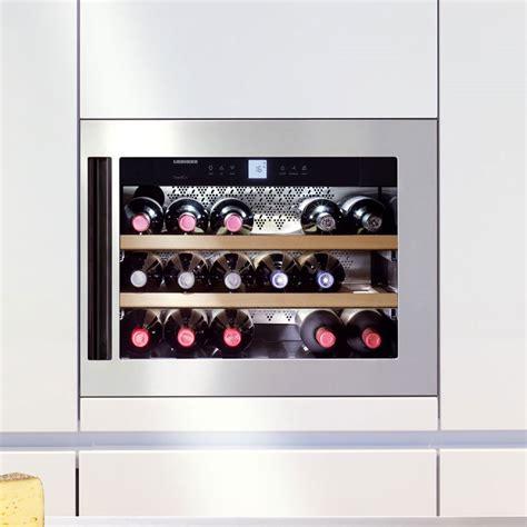 Glassware Cabinet Liebherr Grandcru Built In Single Temperature Wine Cabinet