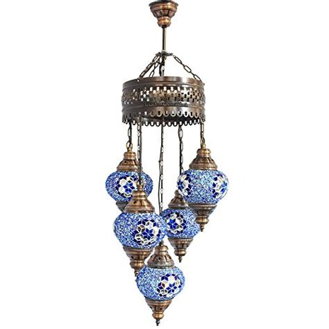 chandelier ceiling lights turkish ls hanging mosaic