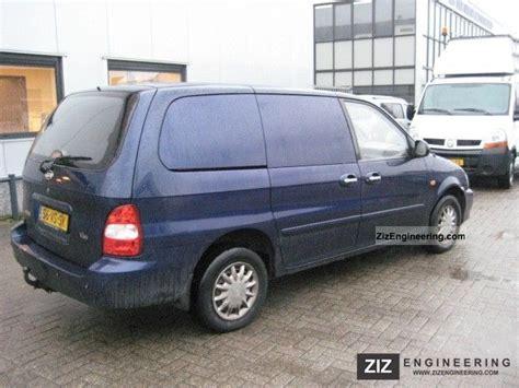 kia delivery kia carnival 2 9 tdi airco 2000 box type delivery