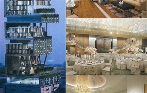mukesh ambani interior house image gallery antilia inside