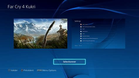 ps4 themes far cry 4 far cry 4 kukri t 233 l 233 charger un th 232 me ps4 personnalis 233