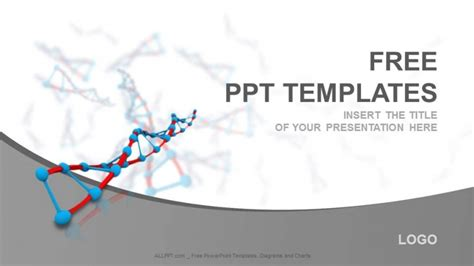 ppt templates free download genetics free dna medical powerpoint templates download free