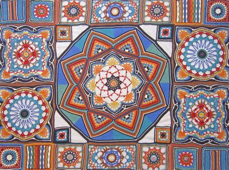 pattern ideas knit crochet design persian tiles