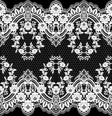 lace seamless pattern vector lace seamless borders vectors set 07 vector floral