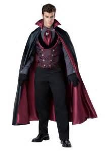 halloween costumes for vampires men s nocturnal count vampire costume