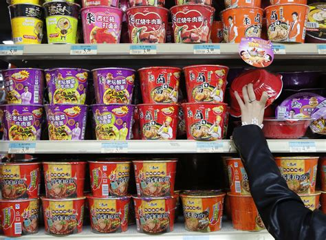 Instan Noodle china s instant noodle market in charts business insider