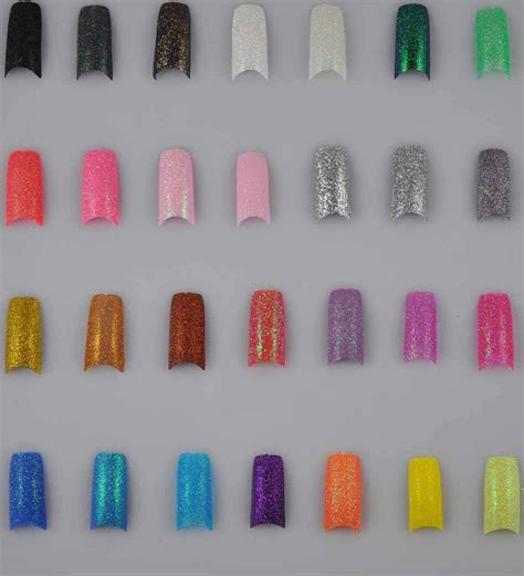 acrylic nails solid color 28 solid colors glitter false acrylic nail