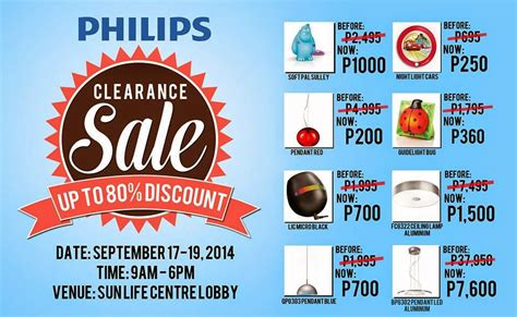 lighting clearance center manila shopper philips lighting products clearance sale