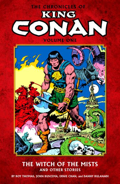the and of it stories from the chronicles of st ã s books the chronicles of king conan 1 the witch of the mists and