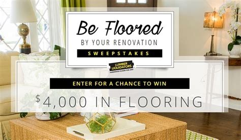 Hgtv Renovation Sweepstakes - hgtv be floored by your renovation sweepstakes sweepstakesbible