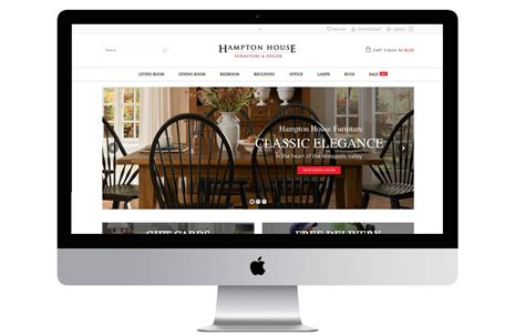 house web design hton house windrose web design