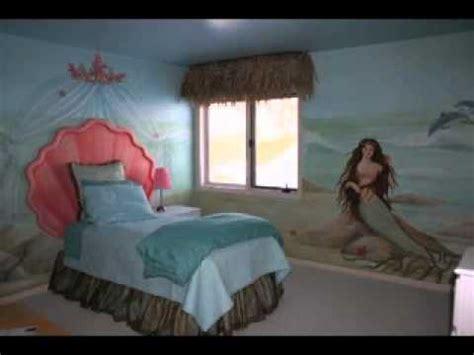 Mermaid Themed Bedroom easy diy mermaid bedroom decorations ideas youtube