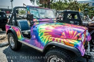 Rainbow Jeep Rainbow Tie Dye Jeep Wrangler Jeep Week