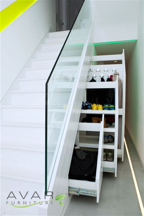 shoe storage stairs stairs storage solution