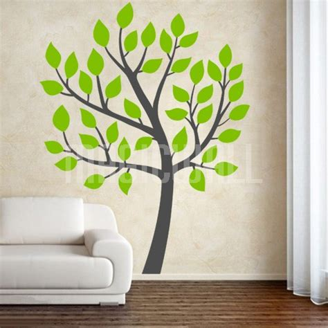 tree wall sticker wall decals pretty tree wall stickers