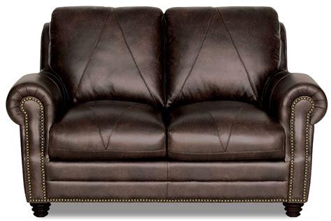 italian leather loveseat solomon choca finish italian leather loveseat luk