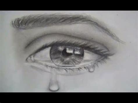 Imagenes De Unos Ojos Llorando | como dibujar ojos y lagrimas dibujar un ojo realista