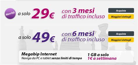compagnia telefonica mobile nuove chiavette mobile bip mobile da 29