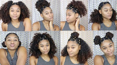 Easy Hairstyles For With Curly Hair by More Easy Hairstyles For Curly Hair