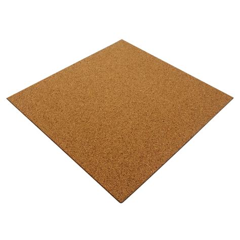 50 x natural cork tiles self adhesive for floor wall diy