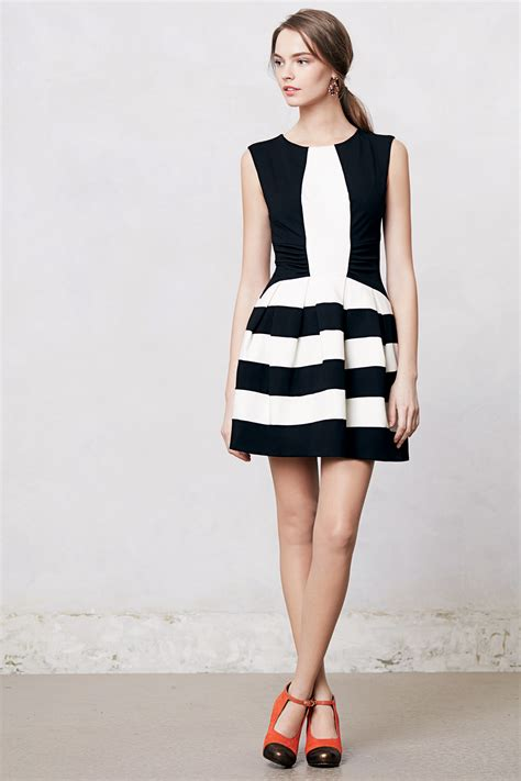 Bw Dress attractive black and white dress to add to ur wardrobe godfather style