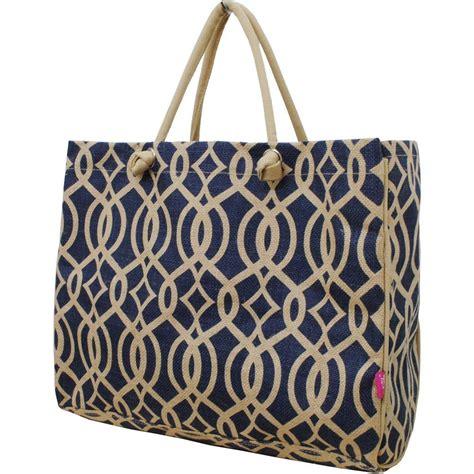 geometric pattern tote bag geometric vine pattern print juco beach shopping tote bag
