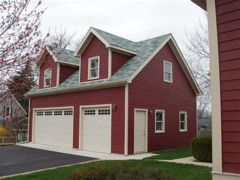 Gable Fronted Dormer Garage Sizes 171 Regency Garages Chicago Garage Builder