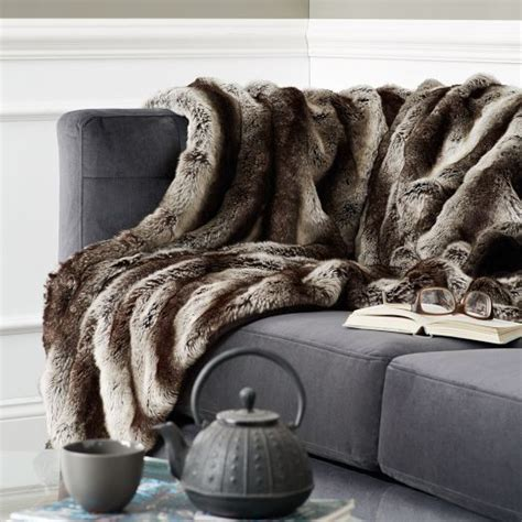 faux fur throws for sofas 178 best luxe faux fur decor images on pinterest