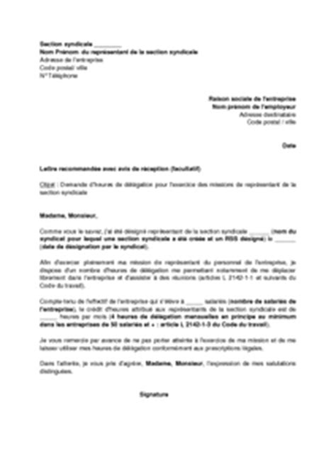 Resiliation Lettre Syndicat Lettre Type Resiliation Contrat Syndicat Document