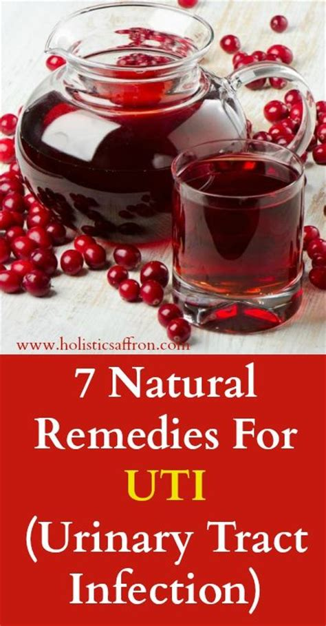 7 remedies for uti urinary tract infection